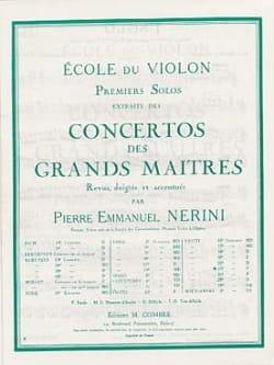1er Solo du Concerto n° 23 Nerini laflutedepan