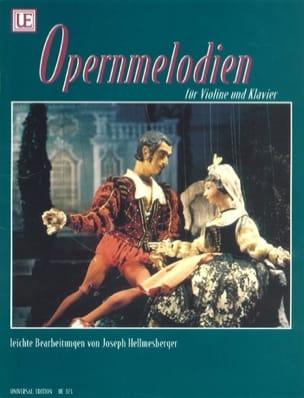 Opernmelodien - Violon Joseph Hellmesberger Partition laflutedepan