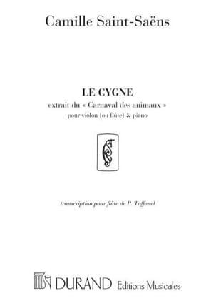 Le Cygne - Flûte et Piano SAINT-SAËNS Partition laflutedepan