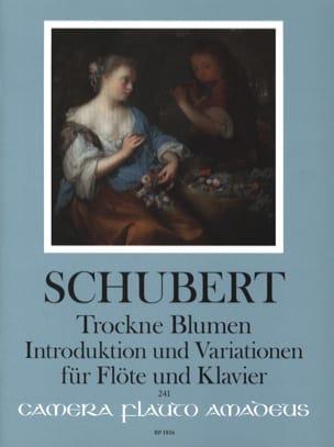 Trockne Blumen, Introduction et Variations SCHUBERT laflutedepan