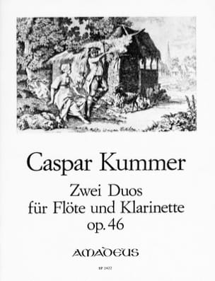 2 Duos, op.46 Gaspard Kummer Partition Duos - laflutedepan