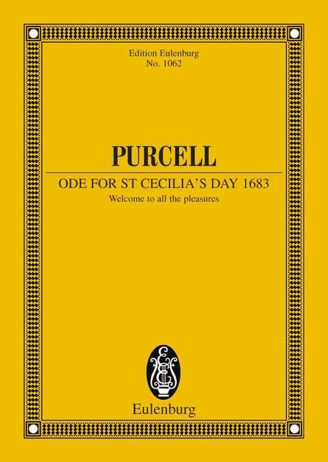 Ode zum Cäcilia-Tag 1683 - PURCELL - Partition - laflutedepan.com