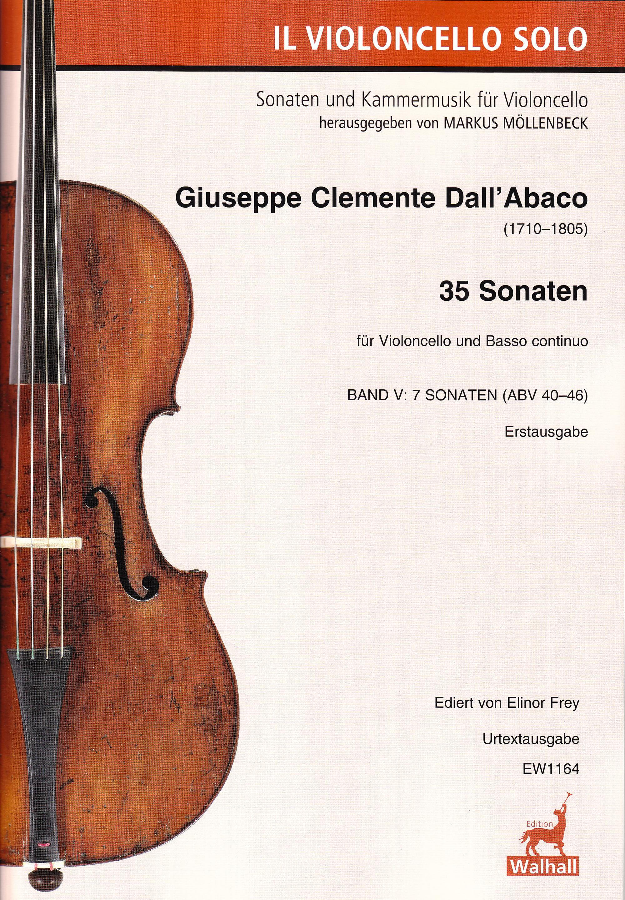 35 Sonates - Volume 5 - Joseph Clemens Dall'Abaco - laflutedepan.com