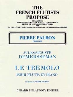 Le Trémolo Op.3 Jules Demersseman Partition laflutedepan