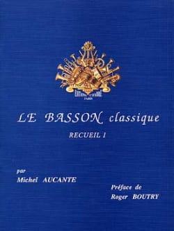 Le Basson Classique Volume 1 Michel Aucante Partition laflutedepan