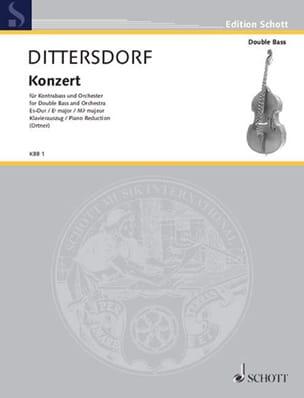 Kontrabass-Konzert Es-Dur Carl Ditters Von Dittersdorf laflutedepan