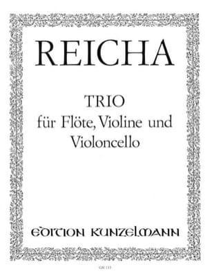 Trio -Flöte Violine Violonc. - Stimmen REICHA Partition laflutedepan
