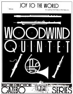 Joy to the World - Woodwind quintet Partition laflutedepan