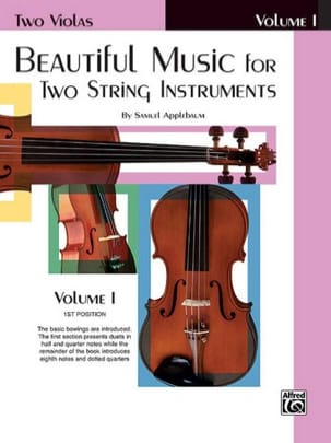 Beautiful Music For Two String Instruments - Book 1 laflutedepan