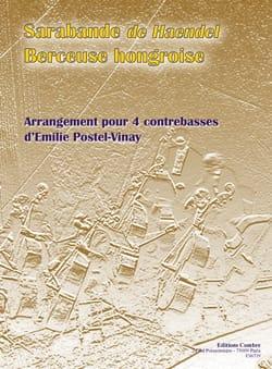 Sarabande et Berceuse Hongroise HAENDEL Partition laflutedepan