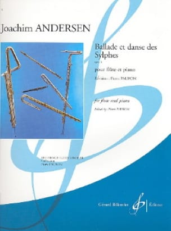 Ballade et Danse des Sylphes op. 5 - ANDERSEN - laflutedepan.com