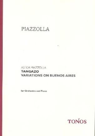 Tangazo - Astor Piazzolla - Partition - laflutedepan.com