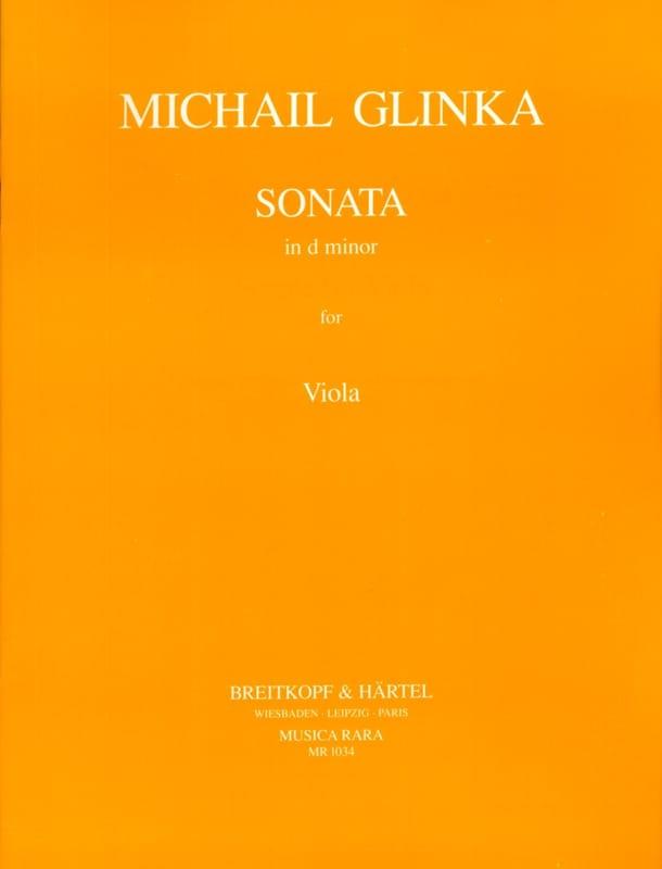 Sonata in d minor - Viola - GLINKA - Partition - laflutedepan.com