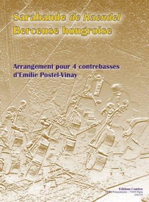 Sarabande et Berceuse Hongroise - HAENDEL - laflutedepan.com