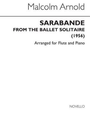 Sarabande - Flûte piano - Malcolm Arnold - laflutedepan.com