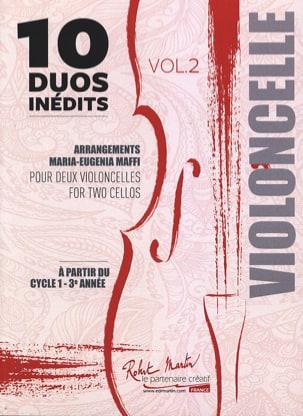 - 10 Duets Inédits vol. 2 - 2 cellos - Partition - di-arezzo.com
