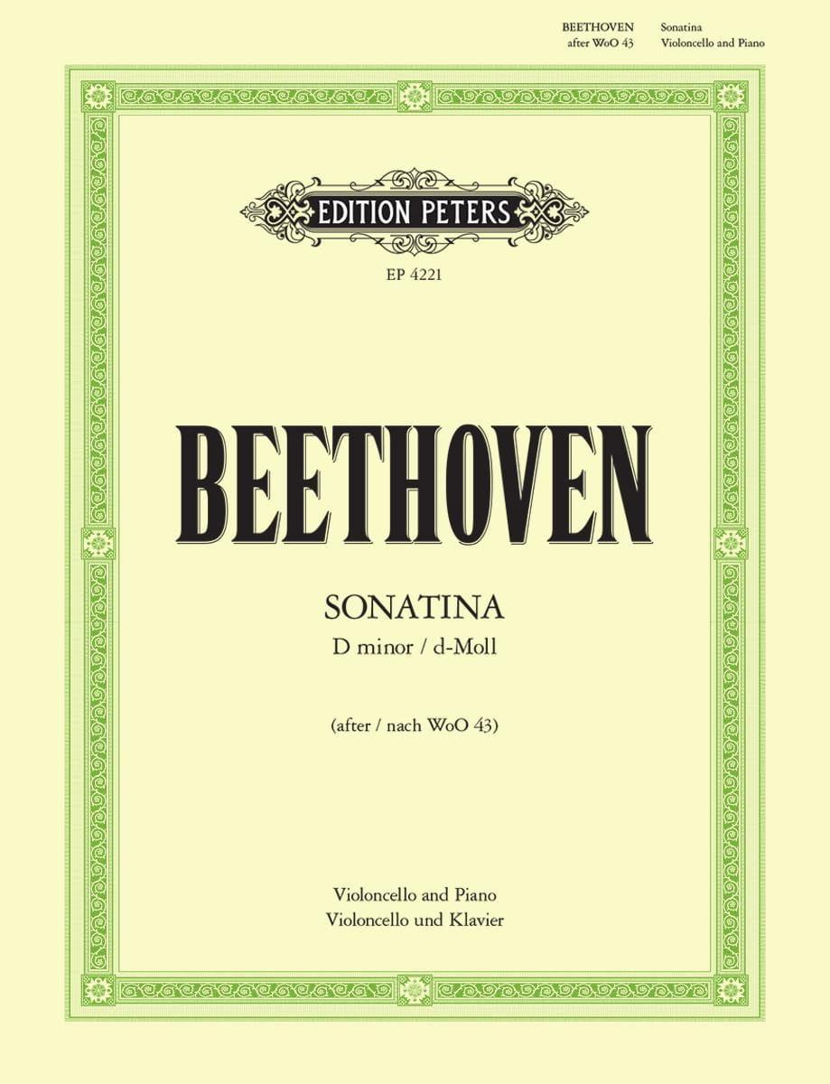 Sonatina D minor - BEETHOVEN - Partition - laflutedepan.com