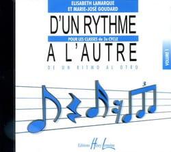 CD - D'un Rythme A l' Autre Volume 1 laflutedepan