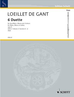 6 Duette op. 5 - Heft 2 - 2 Flöten Oboen, Violinen laflutedepan