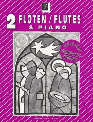 Fröhliches Weihnachtskonzert -2 Flöten Klavier laflutedepan