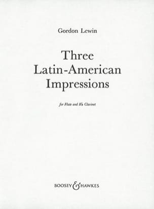 3 Latin-american impressions Gordon Lewin Partition laflutedepan