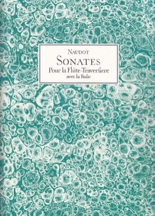 Sonates - Jacques Christophe Naudot - Partition - laflutedepan.com