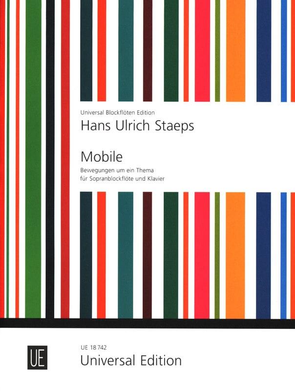 Mobile - Hans Ulrich Staeps - Partition - laflutedepan.com