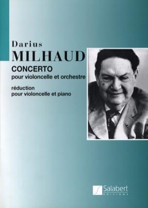 Concerto Violoncelle MILHAUD Partition Violoncelle - laflutedepan