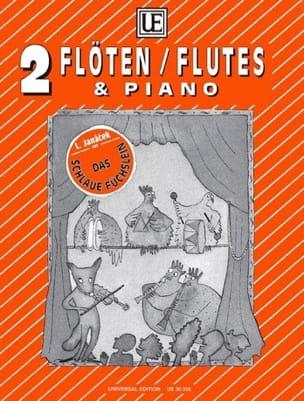 Das Schlaue Füschlein -2 Flöten Klavier JANACEK laflutedepan
