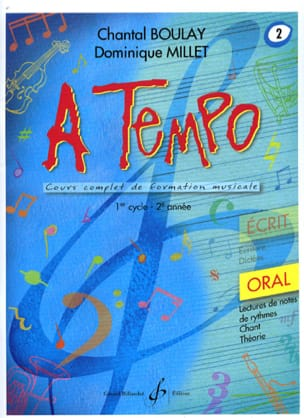 A Tempo Volume 2 - Oral BOULAY - MILLET Partition laflutedepan