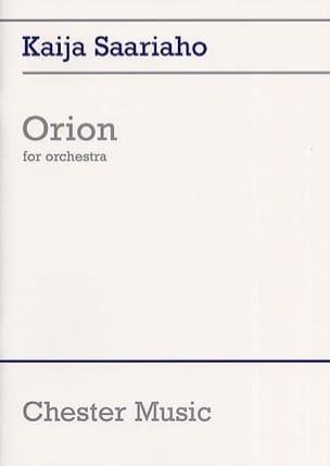 Kaija Saariaho - Orion - Score - Partition - di-arezzo.com