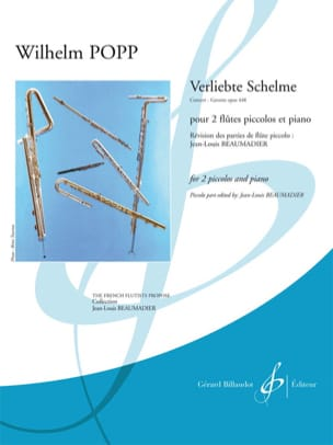 Verliebte Schelme, Concert-Gavotte op. 448 Wilhelm Popp laflutedepan