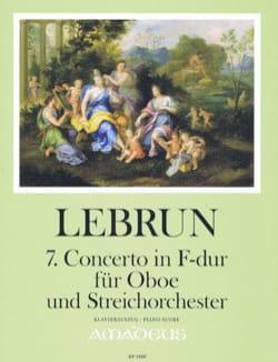 Concerto n° 7 en Fa majeur - Hautbois et piano laflutedepan