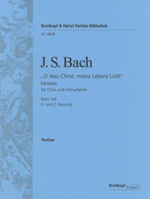O Jesu Christ, meins Lebens Licht, BWV 118 - Conducteur laflutedepan