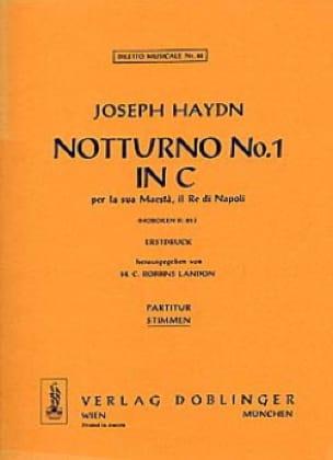 Notturno Nr. 1 C-Dur Hob. 2 : 25 - 2 Altblockflöten Klavier - laflutedepan.com