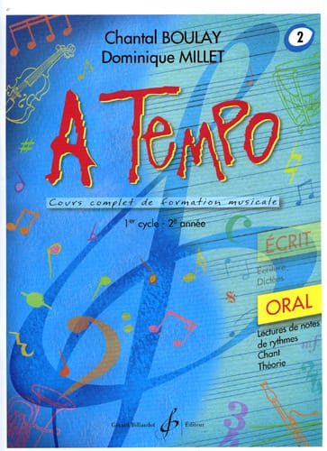 A Tempo Volume 2 - Oral - BOULAY - MILLET - laflutedepan.com