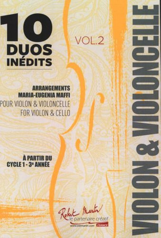 10 Duos Inédits - Volume 2 - Partition - 0 - laflutedepan.com