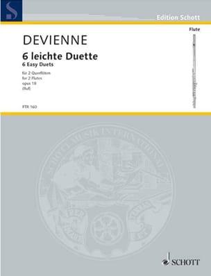 6 Leichte Duette op. 18 - 2 Flöten DEVIENNE Partition laflutedepan