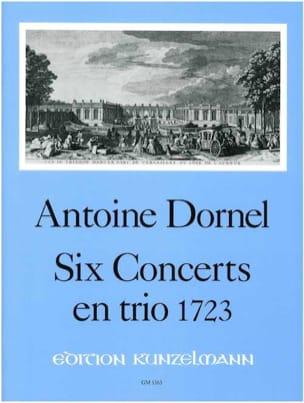 6 Concerts en trio 1723 - 2 Melodieinstrumente u. Bc - Stimmen + Partitur - laflutedepan.com