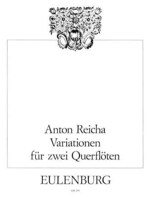 Variationen op. 20 - 2 Flöten REICHA Partition laflutedepan