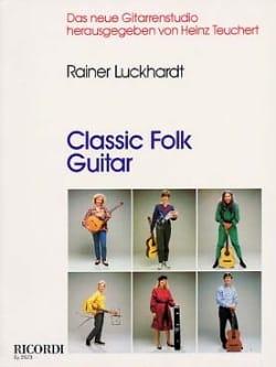Classic folk guitar - Rainer Luckhardt - Partition - laflutedepan.com