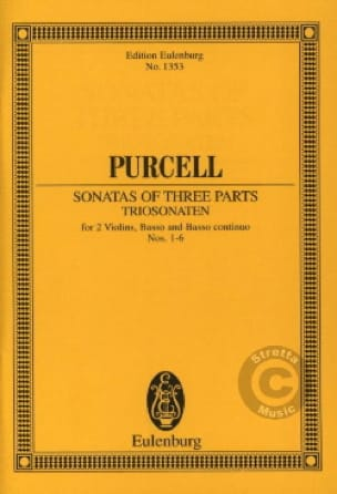 Sonates A Trois Voix, N° 1 A 6 - PURCELL - laflutedepan.com