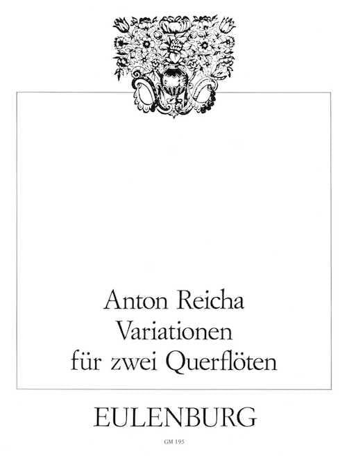 Variationen op. 20 - 2 Flöten - REICHA - Partition - laflutedepan.com