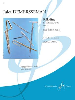 Balladine op. 28 n° 1 Jules Demersseman Partition laflutedepan