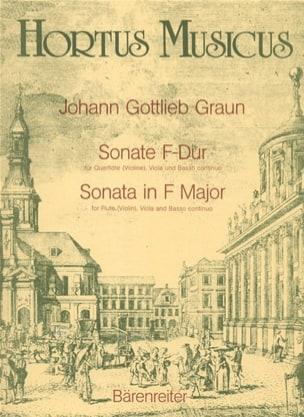 Sonate F-dur - Flöte Violine, Viola und Basso continuo - laflutedepan.com