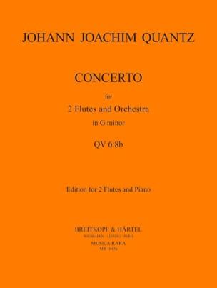 Concerto n° 1 in G minor -2 flutes piano QUANTZ laflutedepan