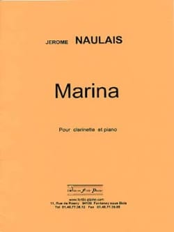 Jérôme Naulais - Marina - Partition - di-arezzo.co.uk