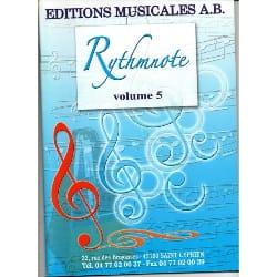 Rythmnote Volume 5 Partition Solfèges - laflutedepan