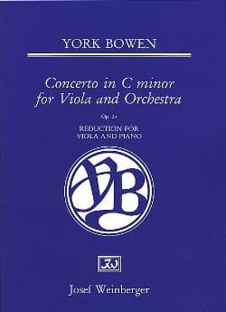 Concerto In C Minor Op. 25 Edwin York Bowen Partition laflutedepan