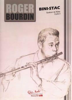 Roger Bourdin - Bini-Stac - Partition - di-arezzo.fr